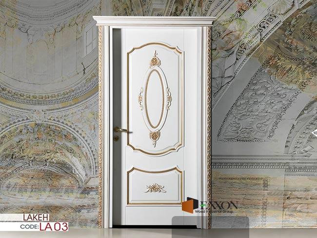 درب داخلی رنگ پلی اورتان پوششی سری LAKEH مدل LA03