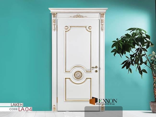 درب داخلی رنگ پلی اورتان پوششی سری LAKEH مدل LA04