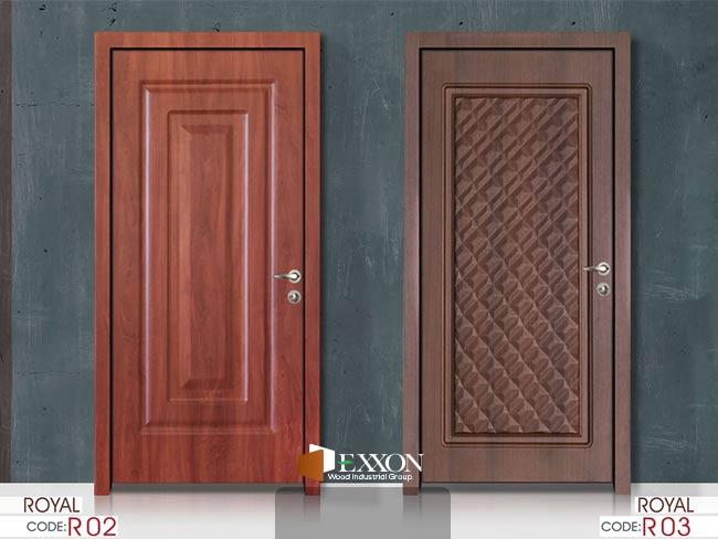 درب داخلی پر ابزار سری ROYAL مدل R02 و R03