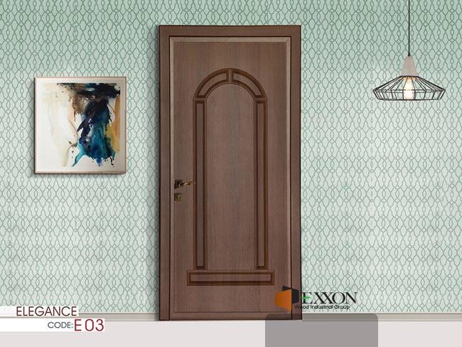 درب داخلی پر ابزار سری ELEGANCE مدل E03