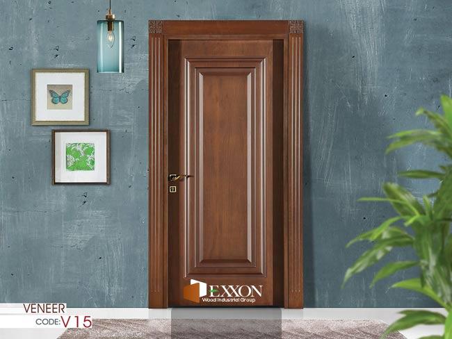 درب داخلی  روکش چوب سری VENEER مدل V15